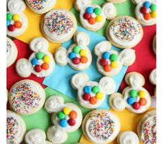 Playful and Yummy Disney Inspired Snacks - Mickey Mouse Sugar Cookies