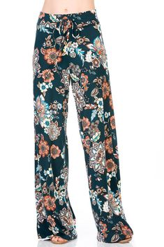 HerShe Women Floral Print High Drawstring Waist Wide Leg Palazzo Pants Plus Size - Now Fashion Shop Palazzo Pants Plus Size, All Fashion, Womens Fashion, Celeb Style, Drawstring Waist, Wide Leg Pants, Homecoming Dresses, Ball Gowns, Floral Prints