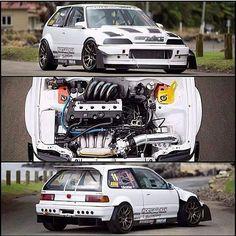 Great looking Honda build.