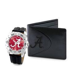 Alabama Crimson Tide Watch   Bifold Wallet Gift Set. Eagles Game TimeNfl ... 7d3af7c29