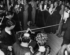 Limbo Dance Contest at the Cocoanut Grove, 1939