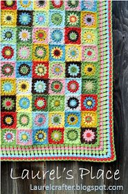 "Crochet Circle-to-square granny (Grandma's Knicknacks) photo pattern tutorial for my ""Grandma's Knickknacks"" blanket.  This is m..."