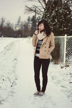 JennifHsieh #winter #fashion #snow #ootd