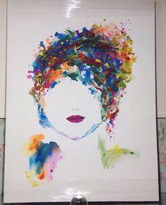 Face In Multi Colours