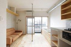 Un apartamento diseñado para subir la libido diseñado por el arquitecto Rintaro Kikuchi. Qué tal eh?