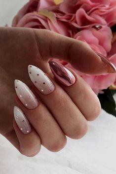 Dot Nail Designs, White Nail Designs, Acrylic Nail Designs, Acrylic Nails, Coffin Nails, Cute Nails, My Nails, Pretty Nails, Star Nails