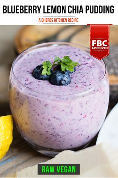 Just take a second to admire the beauty that is this blueberry lemon chia pudding. The color is so intense and mesmerizing! It almost looks too beautiful to eat, but we encourage you to dive in as soon as the mixture resembles a tapioca-like consistency. In addition to the refreshing, delicious flavor, this chia pudding offers an incredible antioxidant content. Between the lemon zest and blueberries, your cells are in for a nutritional treat!