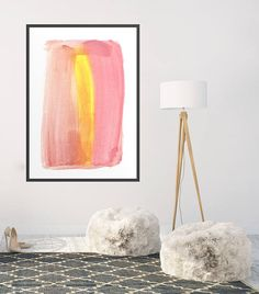 Minimalist Large Abstract Painting Interior Design Art Giclee Print Watercolor Painting by AcrylicVSWatercolor Interior Paint, Interior Design, Large Abstract Wall Art, Watercolor Paintings Abstract, Giclee Print, Design Art, Minimalist, Handmade Gifts, Etsy