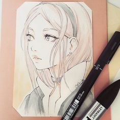 I have opened a smal store where you can get some original sketches, for start very cheaply! I would be very happy if you can visit and let me know how I can make this shop better ^ー^ Thanks! link in bio (ladowska.storenvy.com) #sketcheveryday #mangagirl #manga #sketch #anime #portrait #pencil #漫画 #アニメ #女 #スケッチ: