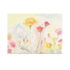 """You'll love the """"Yellow"""" by Sheila Golden Framed Painting Print on Wrapped Canvas at Wayfair - Great Deals on all Décor  products with Free Shipping on most stuff, even the big stuff."""
