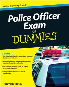 Police Officer Exam For Dummies - Raymond Foster & Tracey...: Police Officer Exam For Dummies - Raymond Foster & Tracey… #StudyAids
