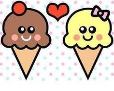 Resultado de imagen para helados tumblr dibujos