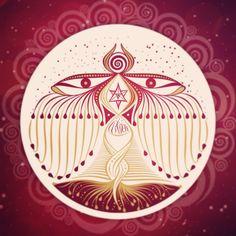 símbolo Imadamah - Sagrada Sabedoria Feminina