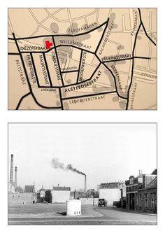 Gefotografeerd van de Diezerstraat kijkent in de Willemstraat. Links is de Zuiderhagen met het badhuis van van Heek. Huis rechts staat op de hoek van de Willemstraat / Oranjestraat.