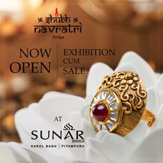 Now Open Exhibition Cum Sale, Offering heavy discounts on Gold & Diamond jewelry with 99/- Rs. Making Charges.