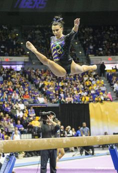 The official photo galleries for the Lsu Gymnastics, Artistic Gymnastics, Gymnastics Posters, Gymnastics Photography, Louisiana State University, Female Gymnast, Lsu Tigers, Album, These Girls