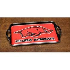 Arkansas Razorbacks Serving Tray