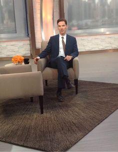 Benedict on Good Morning America