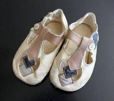 1920s baby shoes, Art Deco