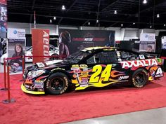 #24 on display at the Canadian Motor Speedway in Toronto, Canada.