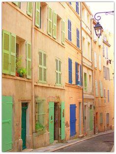 Beautiful Marseille, France