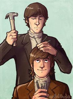 George and John by andlatitude.tumblr.com