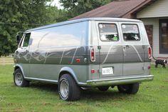 70's Ford Van
