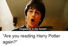 Me right now. I'm up to where Snape dies and I can't bring myself to read it. But once I finish I'll just the start the series again it's honestly a never ending cycle of unbearable feels