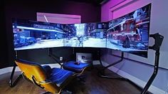 What do video gamers have? A house video game room obviously. Check out this post on exciting computer game room suggestions for your basement Ultimate Gaming Setup, Best Gaming Setup, Gaming Room Setup, Pc Setup, Gaming Rooms, Gamer Setup, Unbox Therapy, Gaming Computer Desk, Office Games