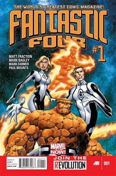 An early look at the most recent #1 issue of the Fantastic Four, part of the upcoming Marvel NOW! era. #MarvelNOW