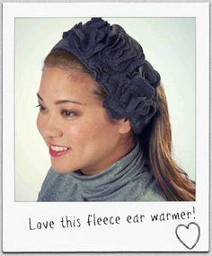 Keep those ears cozy with this fleece ear warmer :) #sew PDF pattern: http://www.joann.com/static/project/1208/313760P33.pdf