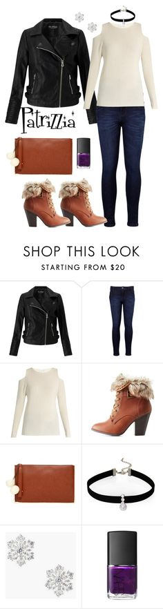 Patrizzia09.12.2016c by patrizzia on Polyvore featuring moda, Velvet by Graham & Spencer, Miss Selfridge, Levi's, Charlotte Russe, Carlos by Carlos Santana, Talbots, Loren Olivia and NARS Cosmetics