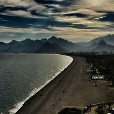 Antalya. Konyaaltı Plajı