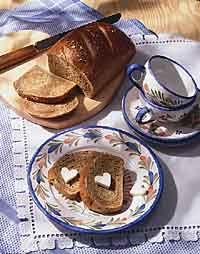 Limpa bread (rye bread with orange peel, molasses, anise)...one of my favorites