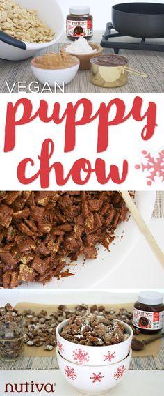 Vegan Puppy Chow kitchen.nutiva.com Organic