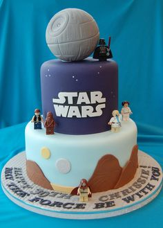 Star Wars birthday cake-price band 2-3