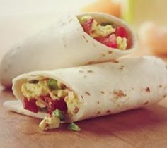 Ontbijt is de belangrijkste maaltijd van de dag, en met deze wrap ook nog eens lekker en vullend!