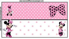 Inspired in Minnie Mouse: Free Printables. Right click and save as