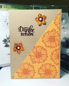Touches of Texture Flower thank you card 😊 #stampinwiththieke #stampinup #kartenbasteln #flowers