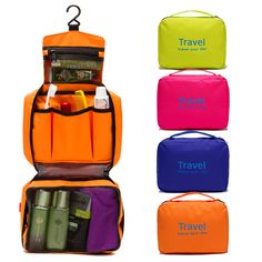 Portable Waterproof Travel Bag Hanging Cosmetic Mackup Holder Organizer Folding Storage Container Cheap - NewChic Mobile.