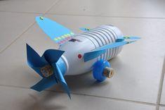 Avion-Bricolage-Récupération