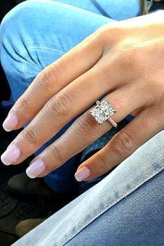 Rose Gold Engagement Rings That Melt Your Heart ❤ See more: http://www.weddingforward.com/rose-gold-engagement-rings/ #weddings