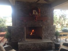 Custom Outdoor wood burning Fireplaces  Southern Hardscapes 334-593-1487