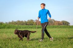 How to start running with your dog.