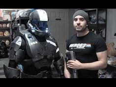 Halo ODST Spartan Foam Armor Cosplay | 405th Halo Costume and Prop Maker Community
