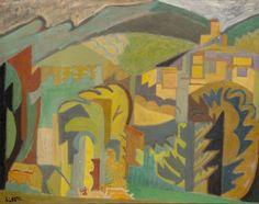 andre lhote paintings | André LHOTE - Le village de Mirmande - Auction