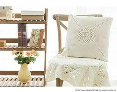 Patrón #1811: Hermoso Cojín a Crochet #crochet  http://blgs.co/6L_6cQ