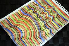 誰でも描ける!メチャ簡単な「浮き出る」3D絵画の描き方
