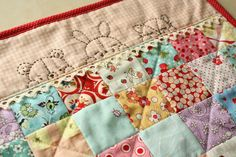 Why Not Sew?: 2 Little Quilts (from Amy's Sleepy Time Animal Pals pattern)