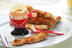 Coquetier OEUF soldat anglais